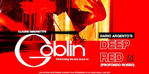 Claudio Simonetti's Goblin performing score to Deep Red/Profondo Rosso