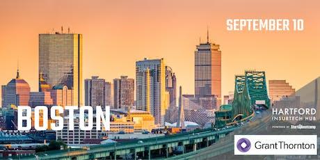 Boston FastTrack - Hartford InsurTech Hub powered by Startupbootcamp  tickets