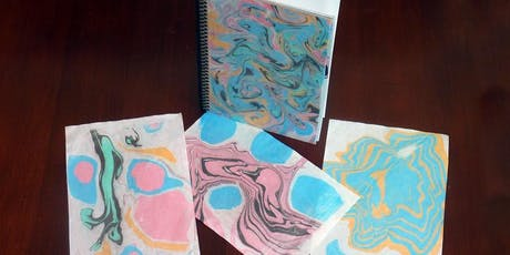 First Friday Wine'd Down: Marbled Journals tickets