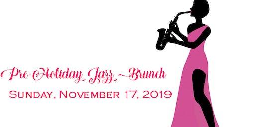 Pre-Holiday Jazz Brunch