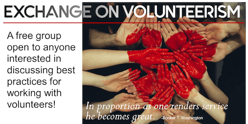 Measuring Your Volunteer Program: September 2019 Exchange on Volunteerism Meeting