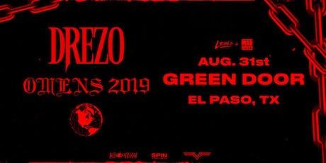 Drezo: Omens 2019 Tour tickets