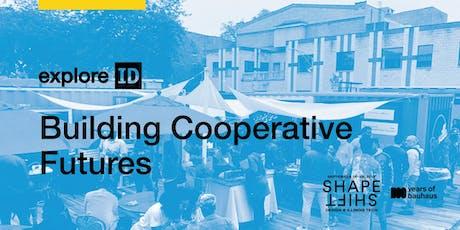 exploreID: Building Cooperative Futures tickets