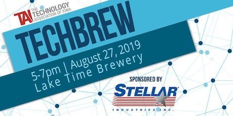 TechBrew August tickets