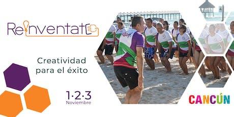 2a edición - REINVÉNTATE Cancun - Playa Mujeres con Dr Roch entradas