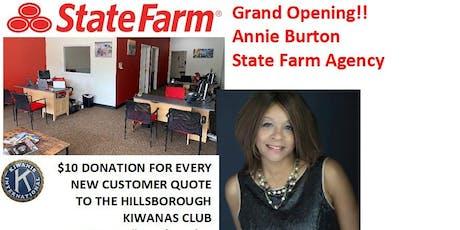 Grand Opening - Annie Burton State Farm Agency  tickets