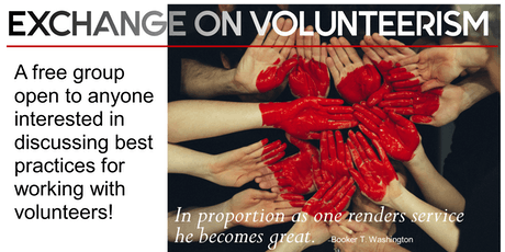 The Art of The Ask: October 2019 Exchange on Volunteerism Meeting tickets