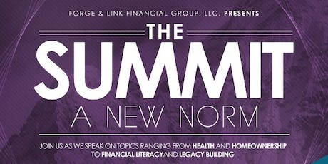The Summit: A New Norm tickets