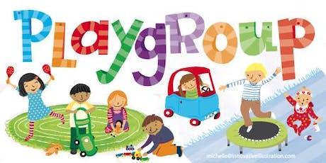 Playgroups/ Grupo de Juegos tickets