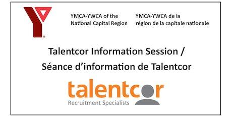 Talentcor Information Session / Seance d'information de Talentcor  tickets