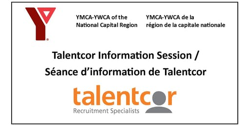 Talentcor Information Session / Seance d'information de Talentcor