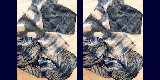 BLUE, BLUE BLUE... INTRODUCTION TO THE ART OF SHIBORI