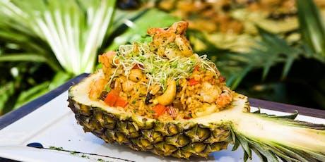 05/09 - Culinária Thai –  19h às 22:30 - R$198,00 ingressos
