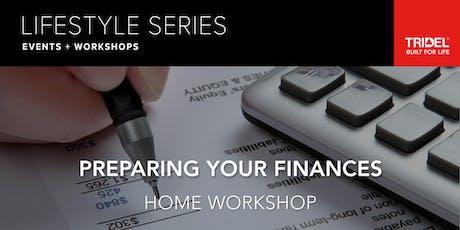 Preparing Your Finances – Home Workshop - October 2 tickets