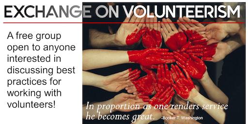 Best Practices Discussion: December 2019 Exchange on Volunteerism Meeting