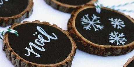 First Friday Wine'd Down: Brush Lettered Ornaments tickets