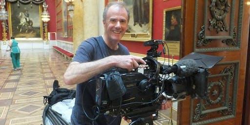 Camera training with Nigel Kinnings