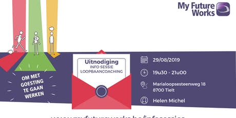 Infosessie loopbaancoaching My Future Works tickets