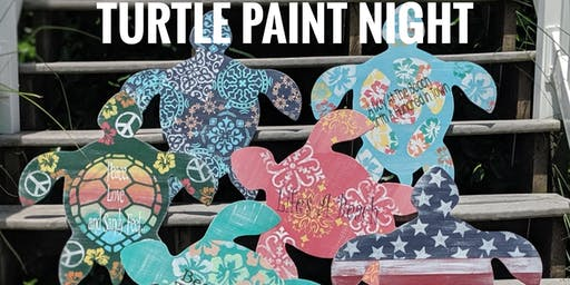 Turtle Paint Night with the Painted Mermaid