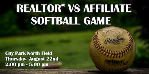 Softball Game of the Year: Realtors® vs Affiliates