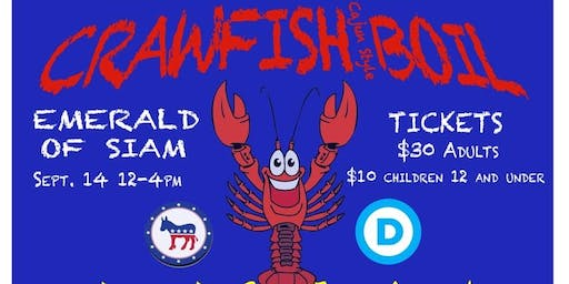 Cajun Style Crawfish Boil Fundraiser ***TICKETS AVAILABLE THRU 8/31***