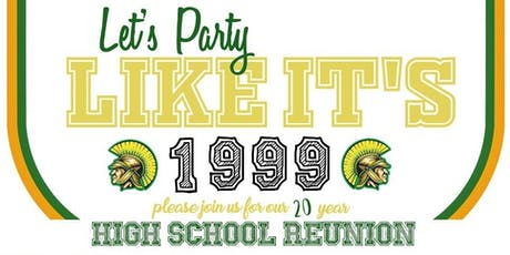 WSE Class of 1999 - 20 Year HS Reunion billets
