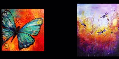 Dragonflies or Butterfly...Painter's Choice tickets