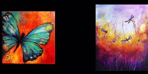 Dragonflies or Butterfly...Painter's Choice