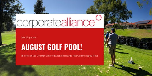 Corporate Alliance August Golf Pool