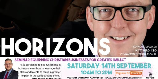 Horizons. Equipping Christian Businesses