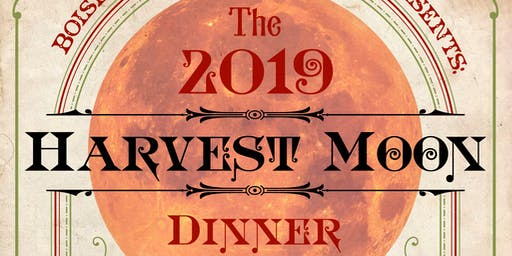 2019 Harvest Moon Dinner