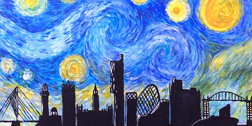 Paint Starry Night Over Manchester!