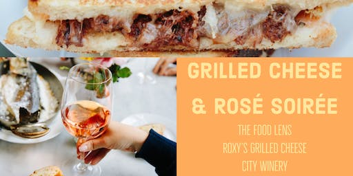 Grilled Cheese and Rosé Soirée