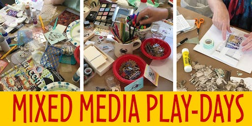 MIXED MEDIA PLAY-DAY: CREATE YOUR OWN WASHI TAPE