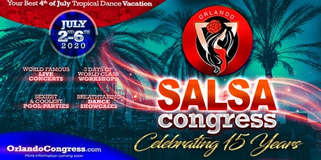 Orlando Salsa Congress 2020 tickets