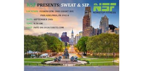 NSF SWEAT & SIP tickets