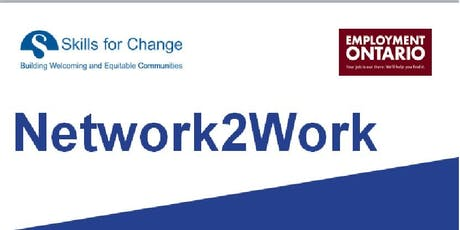 Network 2 Work- Come join us for our  Network2Work Event tickets