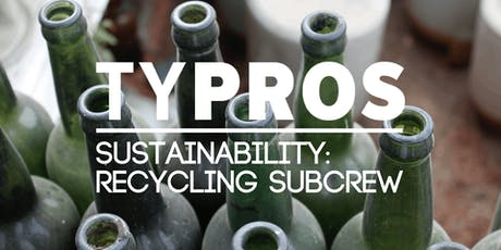 TYPROS Sustainability Crew - Recycling Committee Summer Meeting tickets