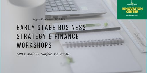 Early Stage Business Strategy & Finance Workshops