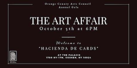 The Art Affair - Orange County Arts Council Annual Gala tickets