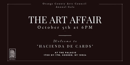 The Art Affair - Orange County Arts Council Annual Gala