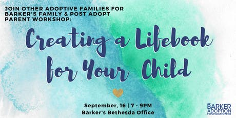 Creating Lifebook For Your Child tickets