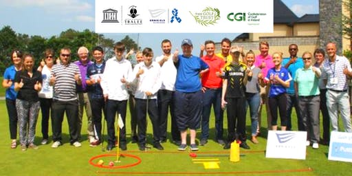 Ernie Els #GameON Autism™ Golf Training Seminar & Clinic