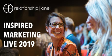 Inspired Marketing Live 2019 tickets