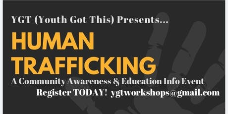 Human Trafficking Community Awareness and Education Info Event tickets