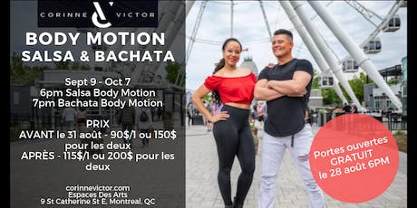 Corinne & Victor Body Motion Fall 2019 tickets