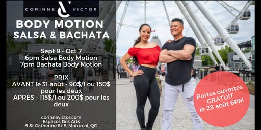 Corinne & Victor Body Motion Fall 2019
