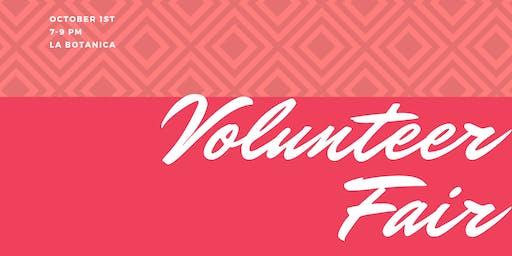 October Mixer and Volunteer Fair