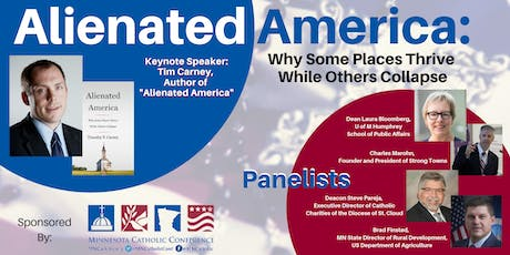 Alienated America: Why Some Places Thrive While Others Collapse tickets