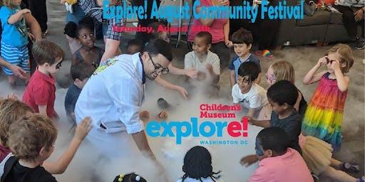 Explore! August Community Festival